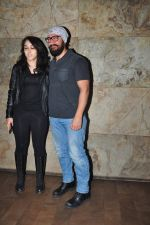 Aamir Khan, Ira Khan at Dangal screening on 21st Dec 2016 (27)_585b87efc51de.JPG