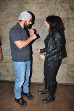 Aamir Khan, Ira Khan at Dangal screening on 21st Dec 2016 (25)_585b87ef2f347.JPG