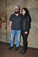 Aamir Khan, Ira Khan at Dangal screening on 21st Dec 2016 (34)_585b87f18467f.JPG