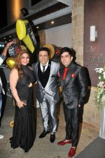 Govinda with Friends at the celebration of Govinda_s Birthday and launch of AA GAYA HERO on 21st Dec 2016_585b8e5e3ba9a.JPG