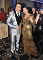 Govinda with Gareema Pandey at the celebration of Govinda_s Birthday and launch of AA GAYA HERO on 21st Dec 2016_585b8e5fb38a0.JPG