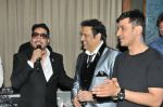 Mika Singh with Govinda and Meet Bros at the celebration of Govinda_s Birthday and launch of AA GAYA HERO on 21st Dec 2016_585b8e84c333c.JPG