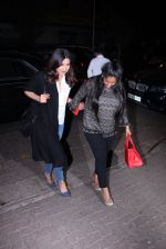 Priyanka Chopra and Arpita KHan snapped post dinner at Hakassan on 21st Dec 2016 (52)_585b89a11be00.JPG