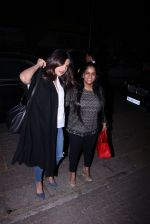 Priyanka Chopra and Arpita KHan snapped post dinner at Hakassan on 21st Dec 2016 (54)_585b89a1b544f.JPG