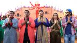 guru,ganesh acharya,swapnil joshi,rucha inamdar & mahesh nime on location of Marathi film Bhikari in Filmcity, Mumbai on 21st Dec 2016_585b8f9ea8db0.jpg