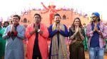 guru,ganesh acharya,swapnil joshi,rucha inamdar & mahesh nime on location of Marathi film Bhikari in Filmcity, Mumbai on 21st Dec 2016_585b9035afab8.jpg