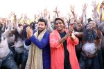 swapnil joshi & ganesh acharya on location of Marathi film Bhikari in Filmcity, Mumbai on 21st Dec 2016 (1)_585b8fa0dec35.jpg