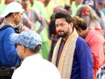 swapnil joshi on location of Marathi film Bhikari in Filmcity, Mumbai on 21st Dec 2016_585b8fa513a3b.jpg