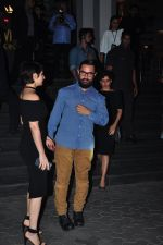 Aamir Khan, Fatima Sana Shaikh, Sanya Malhotra at Dangal premiere on 22nd Dec 2016