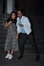 Ayushmann Khurrana, Bhumi Pednekar at Dangal premiere on 22nd Dec 2016