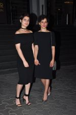 Fatima Sana Shaikh, Sanya Malhotra at Dangal premiere on 22nd Dec 2016