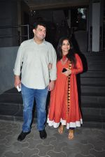 Vidya Balan, Siddharth Roy Kapoor at Dangal premiere on 22nd Dec 2016 (357)_585cdda6744b5.JPG