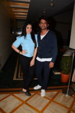 Sunil Grover and Anjana Sukhani at Coffe with D promotions on 27th Dec 2016 (19)_586368a84c9e5.JPG