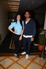 Sunil Grover and Anjana Sukhani at Coffe with D promotions on 27th Dec 2016 (18)_58636889e8db0.JPG