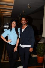 Sunil Grover and Anjana Sukhani at Coffe with D promotions on 27th Dec 2016 (20)_5863688aaaea4.JPG