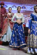 Model at Anju Modi Luxury Festive 2017 collection on 29th Dec 2016 (119)_58660630cac82.JPG