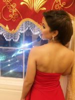 Hina khan in Red HOT Gown at london event