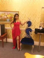 Hina khan in Red HOT Gown at london event (7)_5869f383d20f2.jpg