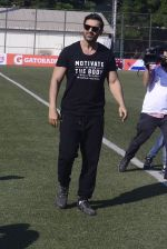 John Abraham at national soccer finals for schools on 7th Jan 2017