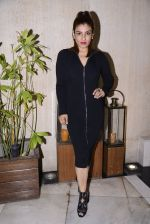 Raveena Tandon at Manish Malhotra hosts dinner for Vogue International�s Suzy Menkes on 6th Jan 2016 (29)_5872243801bf8.JPG
