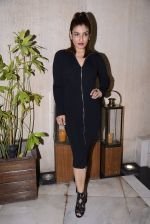 Raveena Tandon at Manish Malhotra hosts dinner for Vogue International�s Suzy Menkes on 6th Jan 2016 (30)_5872243898a7c.JPG