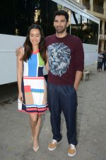 Shraddha Kapoor, Aditya Roy Kapoor at OK Jaanu promotions on 7th Jan 2017 (9)_5872424630cf7.jpg