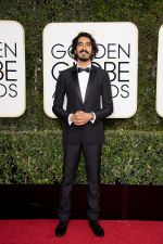 Dev Patel at 74th Golden Globe Awards