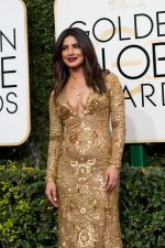 Priyanka Chopra at 74th Golden Globe Awards on 8th Jan 2017