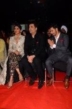 Priyanka Chopra, Karan Johar, Varun Dhawan at Stardust Awards 2016 on 8th Jan 2017 (146)_587362b86bd97.JPG