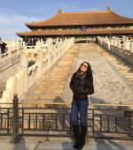 Celina Jaitly at the Forbidden City in China_5876059a5dcf5.jpg