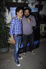 Manoj Bajpai, Anurag Kashyap at Haramkhor screening in Mumbai on 11th Jan 2017