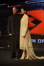 Deepika Padukone, Vin Diesel at XXX Press Meet on 12th Jan 2017 (10)_58788209bdad6.JPG