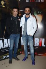 Rohit Roy, Ronit Roy at Kaabil interviews on 13th Jan 2017 (20)_587a152401a57.JPG