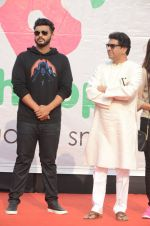 Arjun Kapoor, Raj Thackeray at Be Happy event in Mumbai on 14th Jan 2017 (58)_587b686b7848b.JPG