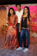 Rashmi Desai, Siddharth Shukla, Jasmin Bhasin at Dil Se Dil Tak new show on Colors on 18th Jan 2017 (89)_58808c7e5b753.JPG