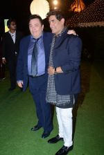 Rishi Kapoor at Ronnie Screwala daughter wedding reception on 20th Jan 2017 (356)_58837ae3c9b96.JPG