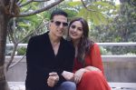 Huma Qureshi, Akshay Kumar at Jolly LLB 2 photo shoot on 30th Jan 2017