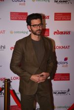 Hrithik Roshan at Lokmat Maharashtra_s Most Stylish 2017 on 31st Jan 2017,1 (328)_58918d26d03d1.JPG