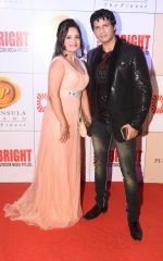 Manju & Mukesh Bharti at 3rd Bright Awards 2017 in Mumbai on 6th Feb 2017_589994481e898.JPG