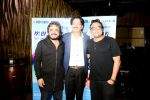 Chintu Singh, Jeetu  Shankar with Deepak Pandit at the Launch of Youngest Music Composer in Golden Book of World Records 2016 Pranjali Sinha_s new album MERE SAPNE_589fd2ed6427e.JPG