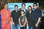 Shailendra Bharti, with  Jeetu Shankar, Sumeet Tappoo, Chintu Singh, Dilip Sen and Pranjali Sinha  at the Launch of Youngest Music Composer in Golden Book of World Records 2016 Pranjali Sinha_s new album MERE SAPNE_589fd32614725.JPG