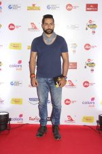 Sudhanshu Pandey at The Red Carpet Of Mirchi Music Marathi Awards on 27th Feb 2017 (7)_58b66f1727b43.JPG