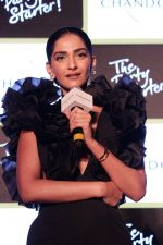 Sonam Kapoor at Chandon_s Party Starter Song with singer Anushka on 2nd March 2017 (32)_58b93dae1934d.JPG