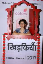 sanya malhotra at The Second Edition Of Colours Khidkiyaan Theatre Festival in __Sathaye College on 4th March 2017 (26)_58bd00f288e45.JPG