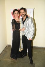 Umesh Pherwani  with Wife at Peek-a-Boo institute for Pre School education organization its musical concert 2017 Dance of the world on 6th March 2017_58be5580bab47.JPG
