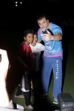 Sohail Khan At Match Of tony premiere league on 8th March 2017