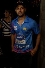 Vatsal Seth At Match Of tony premiere league on 8th March 2017