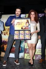 Darshan Kumaar, Pia Bajpai at the music launch of Mirza Juuliet on 14th March 2017