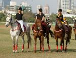 Anusha Dhandekar, Tanisha Mukherjee, Namrata Purohit at Amateur Riders_ Club