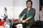 Nawazuddin Siddiqui at the Shooting For His First Movie Poster Of His Upcoming Film Babumoshai Bandookbaaz